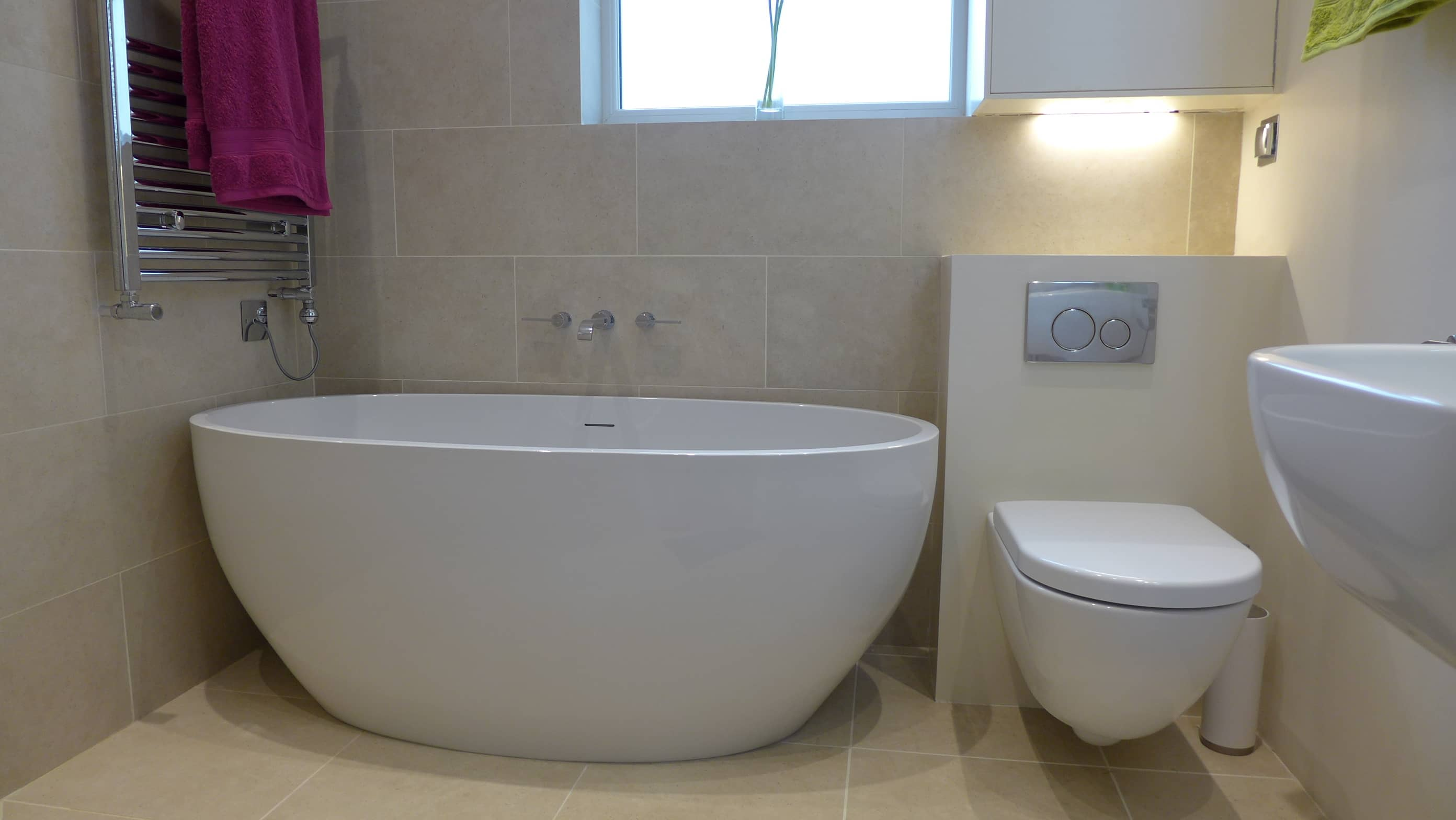 Wet room installation bath style within for Bathroom designs for small area